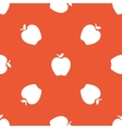 Orange apple pattern vector image