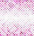 Pink abstract dot pattern background vector image vector image
