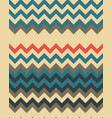 seamless zigzag lines vector image