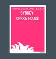 Sydney opera house australia monument landmark