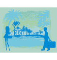 tropical vacation vector image vector image