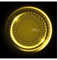 Abstract techno background vector image vector image