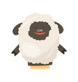 hand or finger puppets play doll sheep cartoon vector image vector image