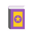 magic book halloween related icon vector image vector image