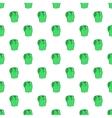 Men classic vest pattern cartoon style vector image vector image