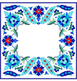 Ottoman motifs design series sixty nine vector image vector image