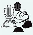 Safety helmet vector image vector image