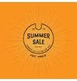 Summer sale badges logos and labels for any use vector image vector image