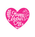 Typography and lettering for a happy mothers day
