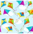 Kite Background Pattern vector image
