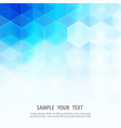 abstract geometric background template brochure vector image vector image