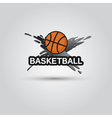 Ball symbol BasketBall Logo Badge Sport emblem