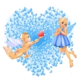 Cupid Girl vector image