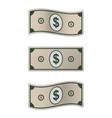 dollar bill banknote vector image