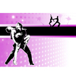 latino dance poster vector image