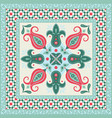 ornamental tile vector image vector image