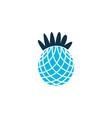 pineapple icon colored symbol premium quality vector image