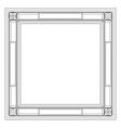 retro frame vector image