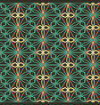 seamless mosaic pattern geometric background vector image vector image