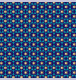 small star of david background pattern vector image vector image