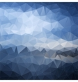 Abstract polygonal background Background vector image