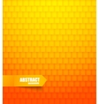 Abstract orange tiled background vector image vector image