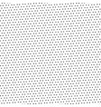 black dotted pattern on white background vector image vector image