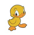 Little Duck vector image vector image