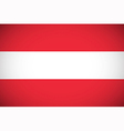 National flag of Austria vector image