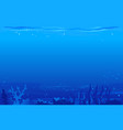 seabed background vector image