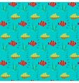 Seamless patterns nautical elements vector image vector image