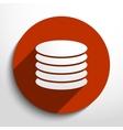 database web icon vector image