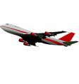 al 0545 plane 01 vector image vector image
