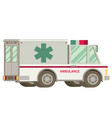 ambulance flat vector image