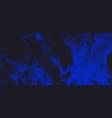 blue smoke fire banner background design