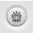 Business Security Icon vector image