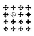 Cross Icon vector image vector image