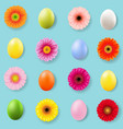 easter day banner vector image