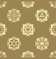 seamless pattern with yantra vector image vector image