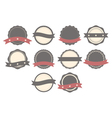 Set of badges labels and logos vector image vector image