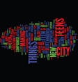 teens in the city text background word cloud vector image vector image