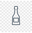 cognac concept linear icon isolated on vector image