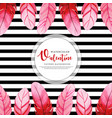 colorful watercolor valentine background vector image vector image