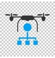 Drone Distribution Icon vector image vector image