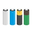 icon of battery vector image vector image