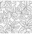 melissa seamless pattern vector image vector image