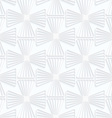 Quilling white paper striped crosses vector image vector image