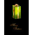 Green Gift vector image