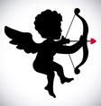angel cupid vector image