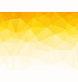 abstract summer yellow geometric background vector image vector image